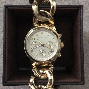 Michael Kors Gold Bracelet Watch